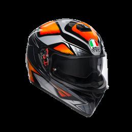 K-3 SV Liquefy Black/Orange