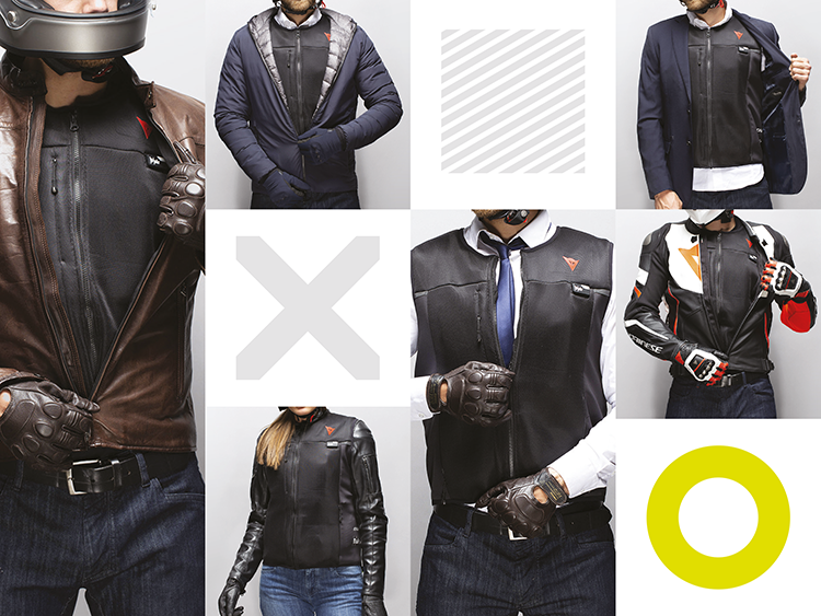 La Smart Jacket Dainese - Versatile